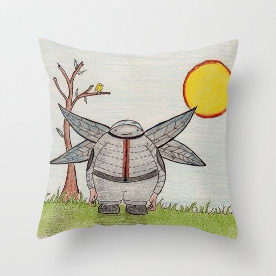 Cutey Throw Pillow
