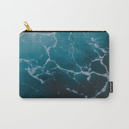 SEA MARBLE TEXTURE Carry-All Pouch