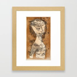 The Saint of the Inner Light by Paul Klee, 1921 Framed Art Print