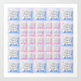 SOFT PILLOWS Art Print