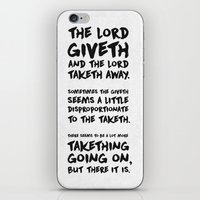 christian iPhone & iPod Skins featuring Christian Cartman by Sharayah Mitchell