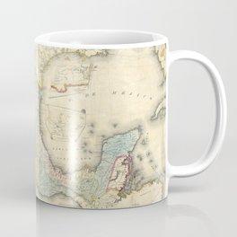 Vintage Map of Mexico (1847) Coffee Mug