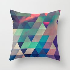 nyyt stryyt Throw Pillow