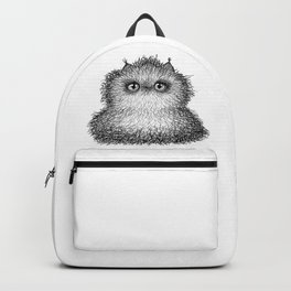 Fluffy Wiry Kitty Backpack
