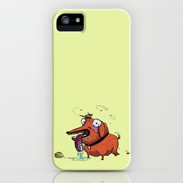 Hideous Dog iPhone Case