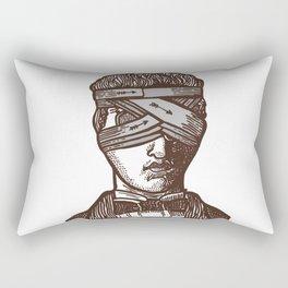 Wrapped Head (transparent) Rectangular Pillow