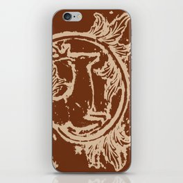 Chocolate Asheville Stags a Leaping iPhone Skin