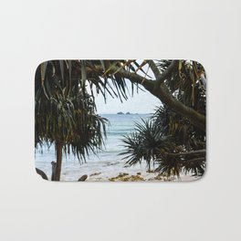 Tropical beach Bath Mat