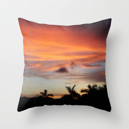 Sunset Throw Pillow