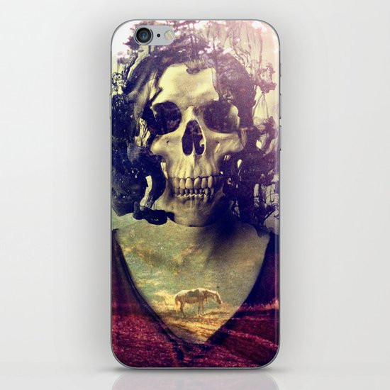 Miss Skull iPhone & iPod Skin