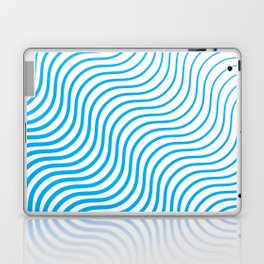 Whiskers Blue #324 Laptop & iPad Skin