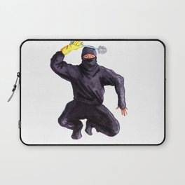 Bathroom Ninja Laptop Sleeve