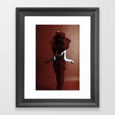 drama Framed Art Print