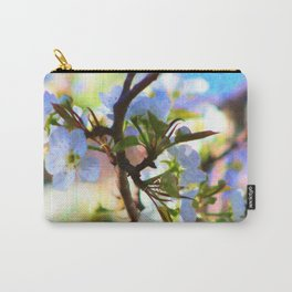 Pear Blossom Painting Carry-All Pouch