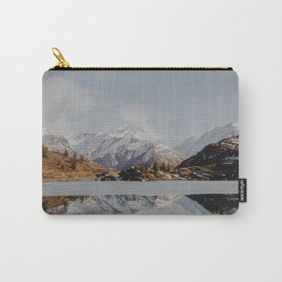 Mountain Reflections #society6 #buyart Carry-All Pouch