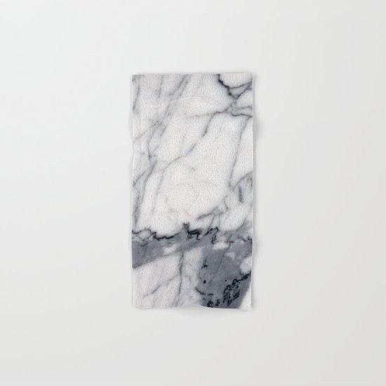Carrara Marble Hand & Bath Towel