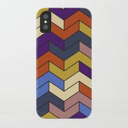 Geometric Chevrons iPhone Case
