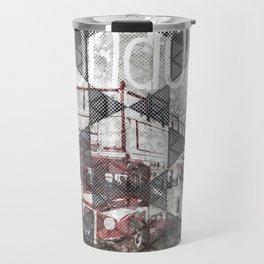 Graphic Art LONDON Streetscene Travel Mug