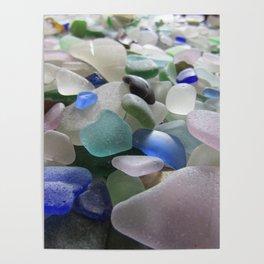 Sea Glass Assortment 6 Poster