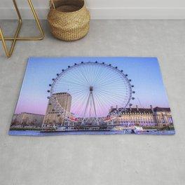 The London Eye, London Rug