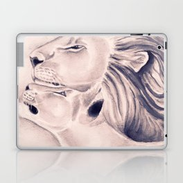 Two Lions Vintage Style Laptop & iPad Skin