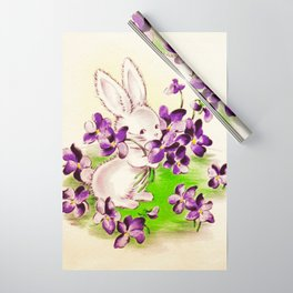 Lilac the Easter Bunny Wrapping Paper