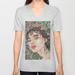 Flower Rae Unisex V-Neck