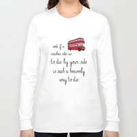 the smiths Long Sleeve T-shirts featuring The Smiths by Whiteland