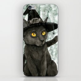 Witch's Familiar iPhone Skin