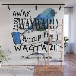 Rump-fed Wagtail Wall Mural