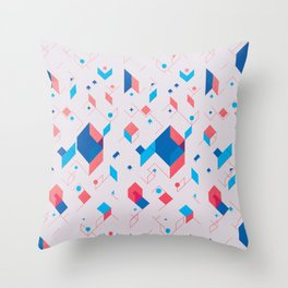 Cubicle Throw Pillow