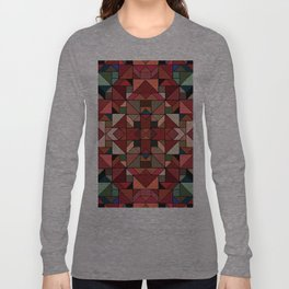 Latino Tiles Long Sleeve T-shirt