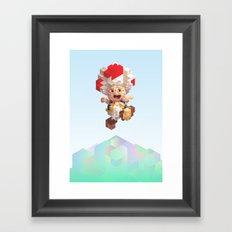 Toad Framed Art Print
