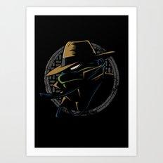 Undercover Ninja Leo Art Print