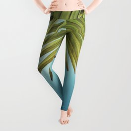 Palm trees and blue sky - what more could you wish for? Leggings