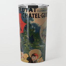 Vintage Auvergne French travel advertising Travel Mug