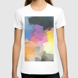 Cubism Abstract 196 T-shirt