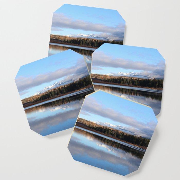Montana Lake Reflection Coaster