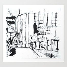NYC High Line Art Print