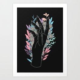 Blooming Day - Illustration Art Print