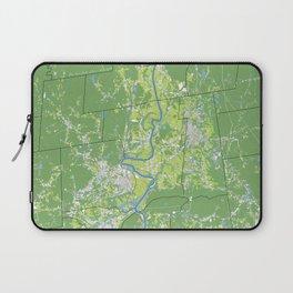 Pioneer Valley map Laptop Sleeve