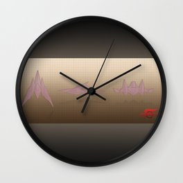Starfox Arwing Wall Clock