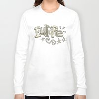 europe Long Sleeve T-shirts featuring Europe Text by Guixarades