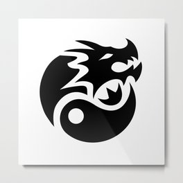 Sairento Dragon Logo Metal Print