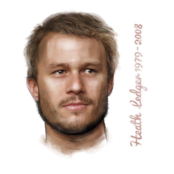 Heath Ledger Duvet Cover