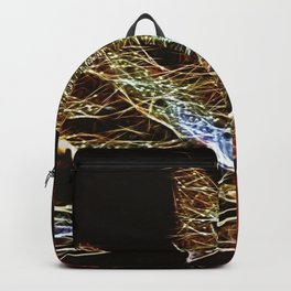 Fall Leaf Abtract Backpack