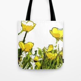 Buttercups bywhacky Tote Bag
