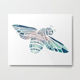 Flying Buzz Metal Print