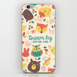 dream big little one iPhone Skin
