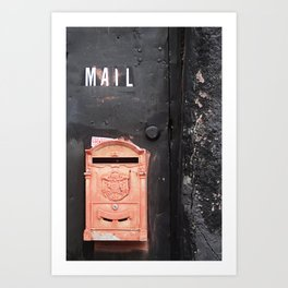 Mailed Art Print